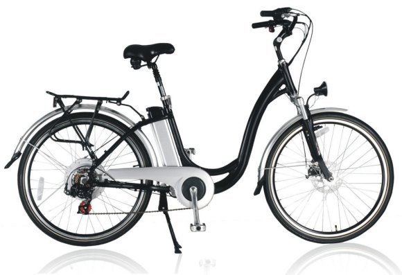 photo de vélo electrique BLACK